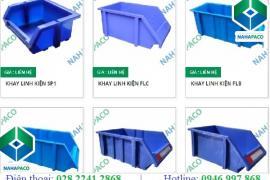 Giá khay nhựa linh kiện mới nhất tại NAHAPACO