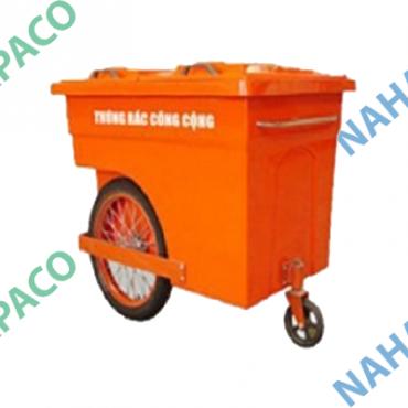 Thùng rác composite 660L