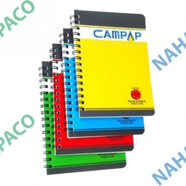 Sổ lò xo bìa nhựa cứng CAMPAP