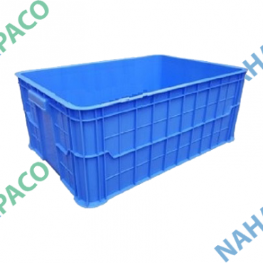 Thùng nhựa đặc - Sóng bít HS017
