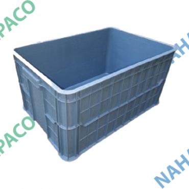 Thùng nhựa đặc - Sóng bít HS019