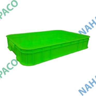 Thùng nhựa đặc - Sóng bít HS025