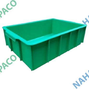 Thùng nhựa đặc - Sóng bít YM003