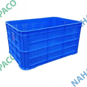 Thùng nhựa rỗng - Sóng hở HS004