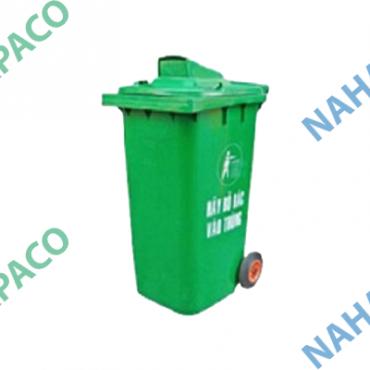Thùng rác nhựa 240L (Nắp hở)