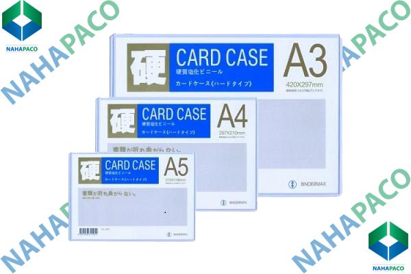 Bìa nhựa cứng CARD CASE HLX