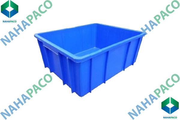 Thùng nhựa đặc - Sóng bít B10