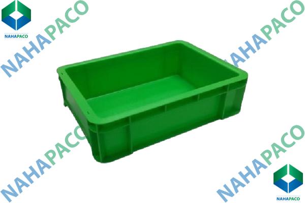 Thùng nhựa đặc - Sóng bít B12