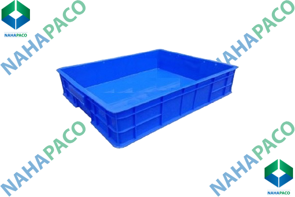 Thùng nhựa đặc - Sóng bít HS006