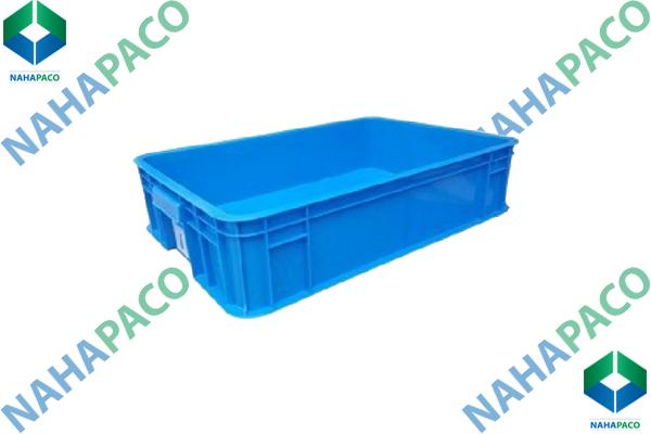 Thùng nhựa đặc - Sóng bít HS007