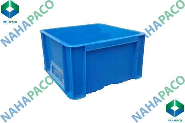 Thùng nhựa đặc - Sóng bít TTC107