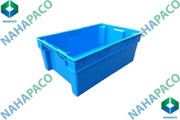 Thùng nhựa đặc - Sóng bít YM002