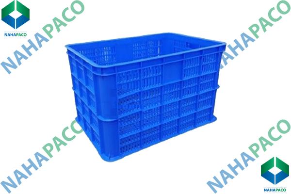 Thùng nhựa rỗng - Sóng hở HS005