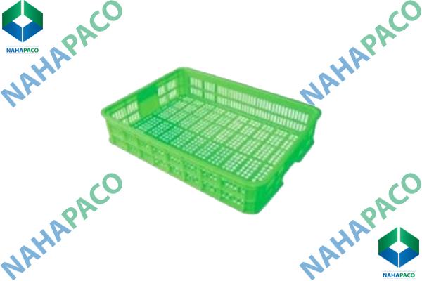 Thùng nhựa rỗng - Sóng hở HS008