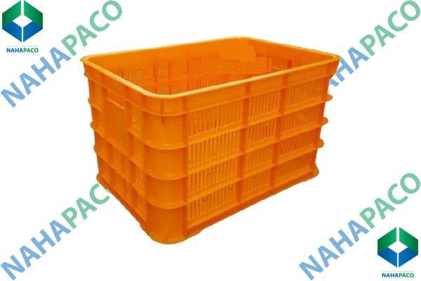 Thùng nhựa rỗng - Sóng hở HS012