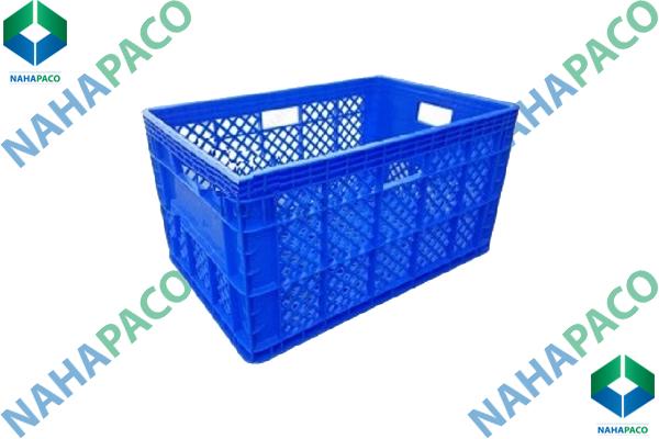 Thùng nhựa rỗng - Sóng hở HS013
