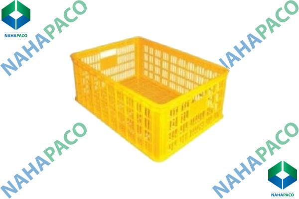 Thùng nhựa rỗng - Sóng hở HS014