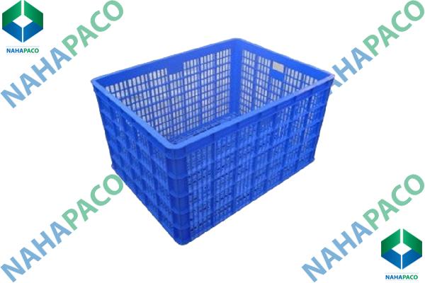 Thùng nhựa rỗng - Sóng hở HS015