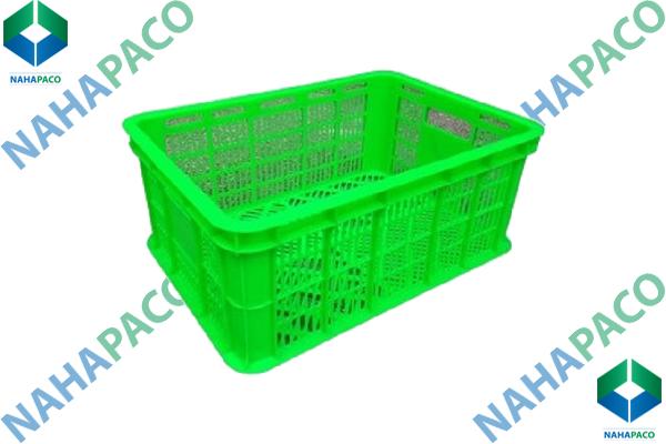 Thùng nhựa rỗng - Sóng hở HS018