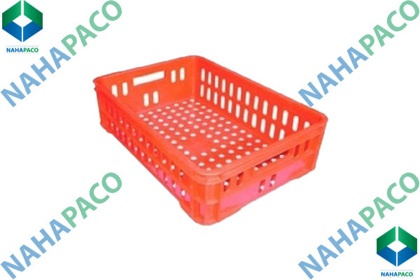 Thùng nhựa rỗng - Sóng hở HS020