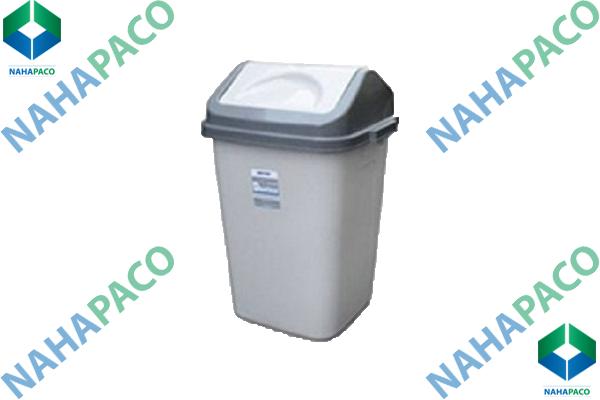 Thùng rác nhựa 60L (Nắp bập bênh)