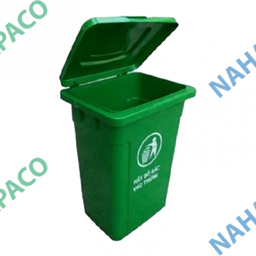 Thùng rác nhựa 90L (Nắp kín)