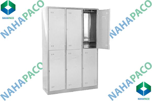 Tủ locker 6 ngăn cao