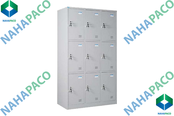 Tủ locker 9 ngăn cao
